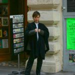 2004-12-13、ウィーンの街、寒い!寒い!! 寒い!!! 言葉を失うくらい寒いです!