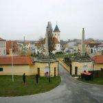 2004-12-14、Roland Batik 邸、Roland の自宅(お城)から見た街の様子。絶景!