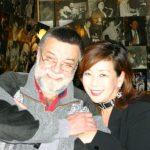 2004-12-15、ウィーン【 JAZZLAND 】、【 JAZZLAND 】のオーナーと久し振りの再会を祝しての記念撮影♪!