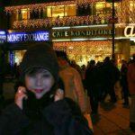 2004-12-17、ウィーンの町並み、クリスマスに染まるウィーンの町並み♪